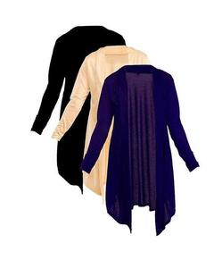 Pack of 3 – Multicolor Viscose Shrugs for Women