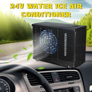 24V Portable Evaporative Mimi Air Conditioner Home Car Water Cooler Cooling Fan