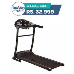 RT100 - Power Motorized Treadmill- 2.5 HP Peak - Black