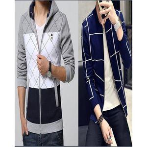 Mardaz Pack of 2 - Fleece Zip up Jackets for Men
