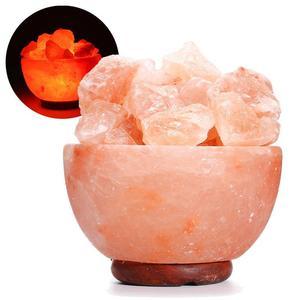 New Himalayan Natural Salt Light Night Light Crystal Rock Air Purifying US Plug