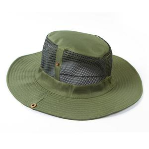 Men Outdoor Camping Fishing Cap Sun Protection Boonie Hat Wide Brim GN