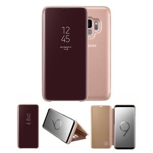 Original Samsung S9/ Samsung Galaxy S9 Clear View Cover Case/ Smart Cover - Gold