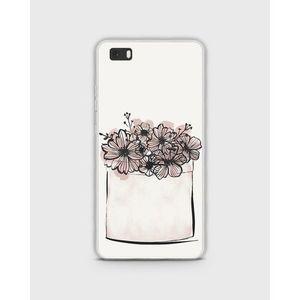Samsung S6 Edge Cover In Hybrid Soft Case In Flower Box Design - 1Hybrid7