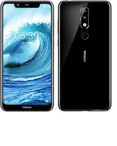 "Nokia 5.1 Plus 5.8 "" 32 GB 3 GB RAM Dual Sim 4G LTE Fingerprint Black"