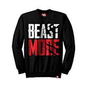 Why GenBeast Mode - Black Colour - fleece Sweatshirt