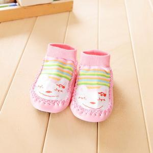 Perfect Meet Kids Baby Girls boy shoes Cartoon Kids Toddler Baby Anti-slip Sock Shoes Boots Slipper Socks