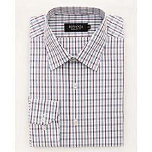 Bonanza SatrangiL-Gray Pc Men's Smart Shirt