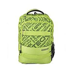 American TouristerPack of 2 - At Dodge I Backpack + Pencil Case - Lime Green