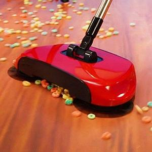 Sweep Drag All - In - One No Electricity Spin Broom Vacuum Cleaner 360 Sweep The Floor Machine Multicolor