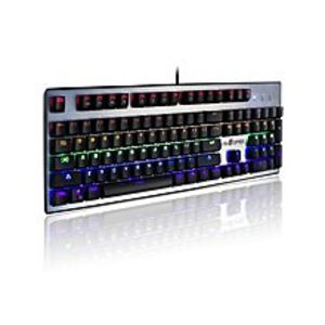 VELOCIFIRE VM30 104 Keys Mechanical Keyboard LED Illuminated Backlit