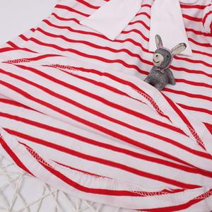 Toddler Kids Baby Girls Short Sleeve Striped Dress Outfit Clothes Dress