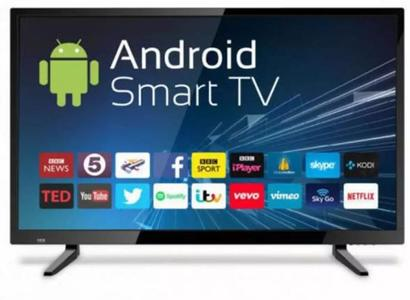 32 Inch Smart Android, WIFI, Youtube, Netflex, QLED TV