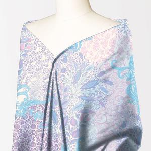 Alkaram studio Silver Collection Purple Lawn 1PC Unstitched Suit For Women -A132222103