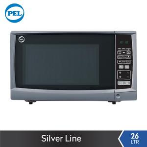PEL Silver Line Microwave Oven - 26 Ltr