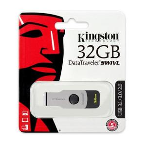 KINGSTON DT SWIVL 3.0 USB FLASH DRIVE 32GB - 1 YEAR WARRANTY