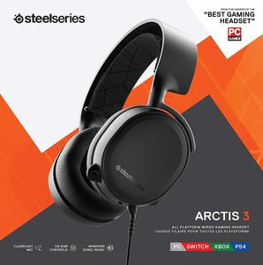 SteelSeries Arctis 3 All-Platform Gaming Headset for PC, Playstation 4, Xbox One, Nintendo Switch, VR, and iOS freeshipping