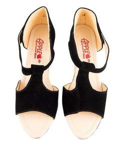 VELVET HEEL SANDAL - Shoes for Women