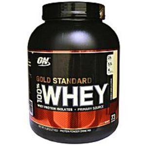 Optimum Nutrition100% Whey Protein - ON - Gold Standerd - 5LBS (Vanilla Flavor)