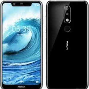 "Nokia 5.1 Plus Nokia X5 Display 5.8"" HD -  3 GB / 32 GB - 13 MP, 8 MP Cam - Black"