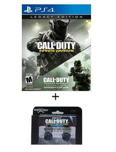 Pack of 2 - Call Of Duty Infinite Warfare & Kontrol Freeks DVD PS4 Game