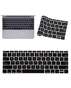MacBook Laptop Keyboard Protector (Pattern 2) - Black