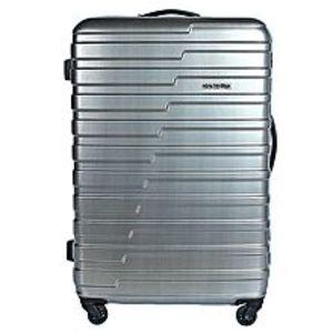 American TouristerHandy Spinner Suitcase 55cm - Matt Grey Check