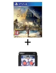 Playstation 4 Dvd Assassin'S Creed Origins Ps4 Game Plus Kontrol Freek