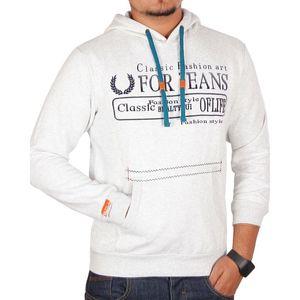 Sports Hub For Jeans - Kangroo Hoody - Off White