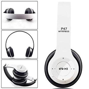 Professional Stereo P47 Wireless Bluetooth Headphones for Gaming