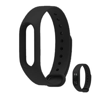 Replacement TPU Wrist Band for Xiaomi MI Band 2 - Black