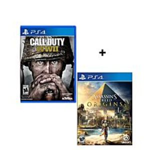 SonyBundle Offer - Call Of Duty - WW II, Assassin's Creed Origins - PlayStation 4
