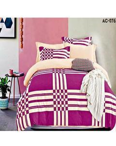 Magenta Bed Sheet Ac 076