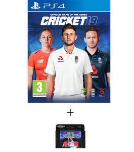 PS4 Cricket 19 International Edition PLUS KONTROL FREEK