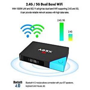 Android Smart TV Box A95X A2 Octa Core 2GB+16GB - Black