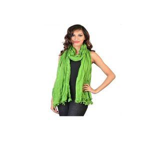 ModernStylishStore Ladies Green Dupatta