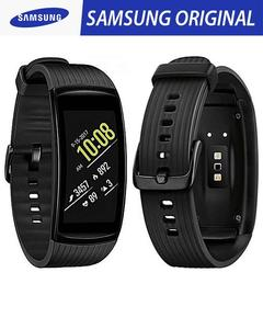 Original Samsung Gear Fit 2 Pro Smart Fitness Sports Band with GPS- Black