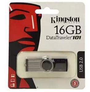 Kingston 16GB USB flash drive - Data Traveler + OTG Converter