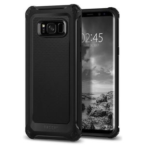 Rugged Armor Extra Back Cover - Galaxy S8 Plus - Black