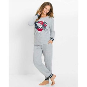 Grey Santa Claus Night Suit-ZQ633