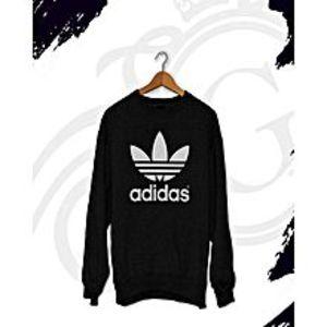 SASCO FashionsWinter Fleece Cotton Printed Sweatshirt Black