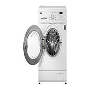 LGFully Automatic Front Loading Washing Machine - White