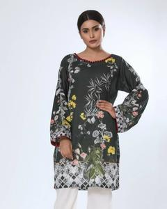Grey Lawn Digital Unstitched Tunic - Maira Ahsan Collection 2018 Vol 10 ZS-05