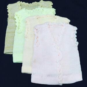 Pack of 4 Newborn Sweaters - Multi Colour