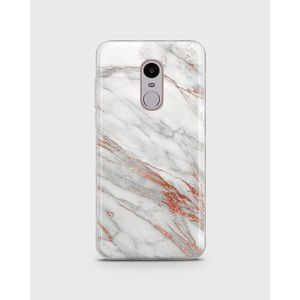 Xiaomi Redmi Note 4 Soft Cover in Marble Shimmering Red -1cover42