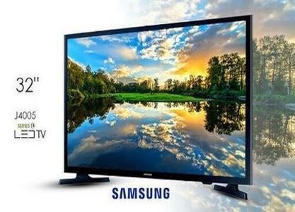 Samsung - 32 Inches Slim LED Tv - 1920x1080 - Free 32GB USB - Black