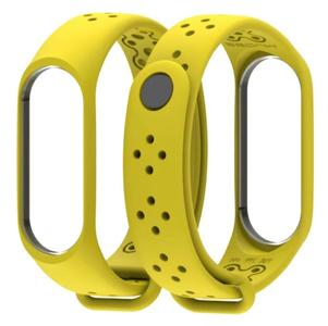 Xiaomi Mi Band 3 Strap - Yellow ( Brand Mijobs)
