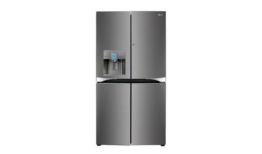 LG New Model LG Double Door Refrigerator Mega capacity Side-by-Side refrigerator with Water Dispenser