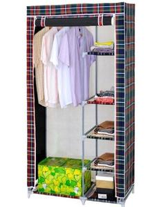 Styleys Cabinet Wardrobe Cupboard Foldable Storage Rack
