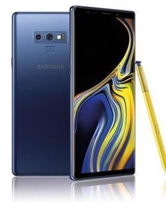 """Samsung Galaxy Note 9 - 6.4"""" - 6Gb Ram - 128Gb Rom - 8 MP Front  Cam- Dual Sim - Ocean Blue"""